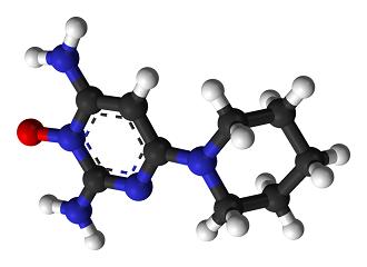 ミノキシジル構造式イメージ