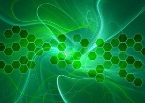 分子モデル イメージ