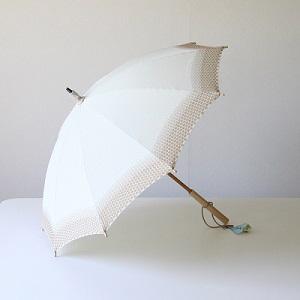 日傘 グレー
